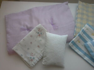 Comforter and sheet set for Doll Cribs Belleville Belleville Area image 4