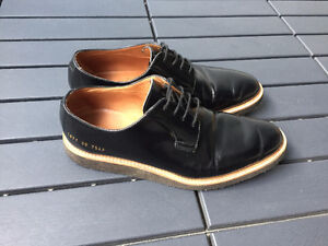 Common Projects Derby Shine, Black, Size 39