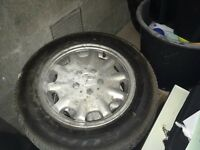 Mercedes 15 inch alloys with tyres