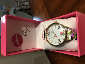 Betsy Johnson Watch - NEW with tag!