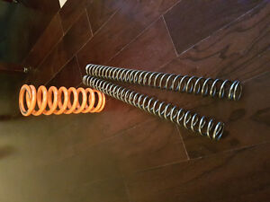 WP Fork and rear shock springs for 231-253b rider