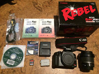Canon XSi DSLR Camera and 18-55mm IS lens