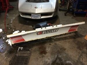 BABY BLIZZARD PLOW FOR YOUR SMALLER JOBS  $2800.00