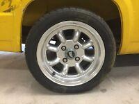 "X2 Superlite type 13"" Mini wheels with tyres Trike"