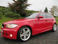 SOLD SOLD 2008 BMW 123d M-SPORT **TWIN TURBO**204 BHP**MELBOURNE RED**