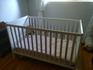 White Ikea Crib