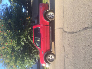 2003 Ford F-150 SuperCrew Red Pickup Truck