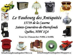 LE FAUBOURG DES ANTIQUITES