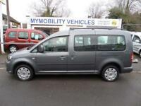 Volkswagen Caddy Maxi Life AUTOMATIC 5 seat Wheelchair Accessible WAV Car