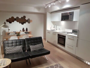 Fully furnished Downtown Vancouver condo for rent from $1995