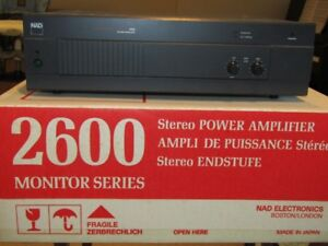 NAD 2600 Monitor Series Stereo Power Amplifier