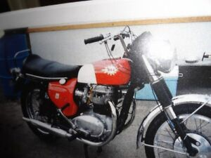 BSA AND TRIUMPH TIGER CUB MOTORCYCLE AND PARTS FOR SALE
