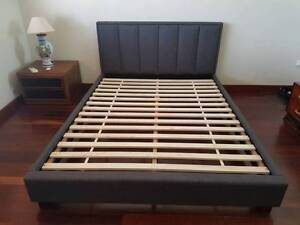 Top Quality Fabric King Sturdy Bed Frame Bayswater Bayswater Area Preview