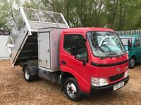 TOYOTA DYNA 350 D-4D MWB CC TREE TIPPER CAGED Red Manual Diesel, 2007