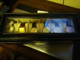 Box of rotary gents watches