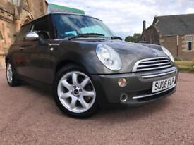 *TOP SPEC*2006906)MINI COOPER 1.6 PARK-LANE EDITION WITH HEATED LEATHER-ONLY 81K