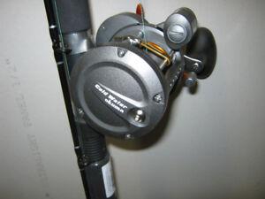 "For Sale  ""9"" Brand New Okuma Downrigger Rods and Reels"