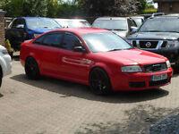 2005 Audi RS6 4.2 BITURBO Auto Quattro ( MISANO RED )