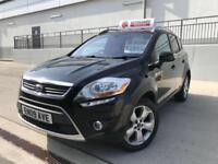 FORD KUGA 2.0TDCI TITANIUM 4X4. FULL GLASS ROOF, LEATHER, PRIVACY GLASS