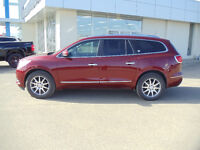 2015 BUICK ENCLAVE AWD LEATHER IN CRIMSON RED