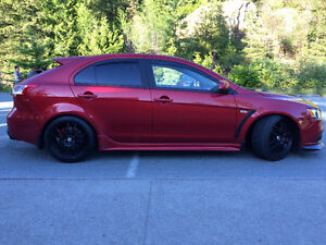 2009 Mitsubishi Lancer Sportback Ralliart Evolution Hatchback