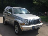 Jeep Cherokee ltd v6 auto petrol 208bhp fully loaded leather,satnav,sunroof finance available