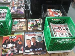 Various Rock and Roll Magazines