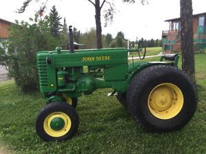 1950 Model M John Deere Tractor