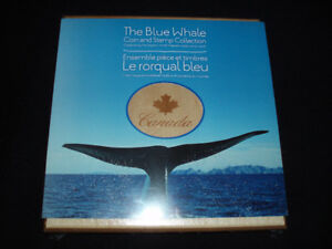 2010 The Blue Whale Coin and Postage Stamp Collection