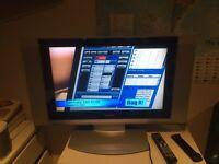 Panasonic viera TV with remote