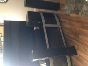 Surround system & fire place for sale.