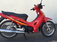 2005 Honda anf125 Innova good clean little bike motd £599