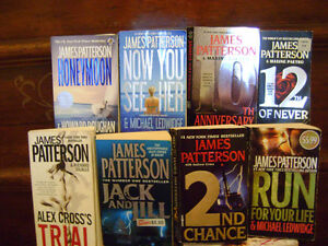 SOME GREAT READS BY JAMES PATTERSON IN ORILLIA