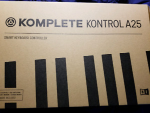 NATIVE INSTRUMENTS A25 KEYBOARD W/SOFTWARE LICENSES *BRAND NEW*