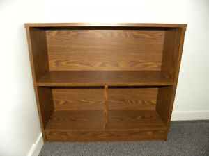 2 BOOKCASES - STORAGE UNITS