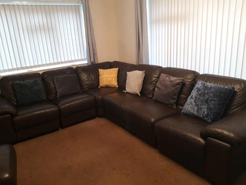 Incredible Linea Corner Sofa From Dfs In Thurston Suffolk Gumtree Inzonedesignstudio Interior Chair Design Inzonedesignstudiocom
