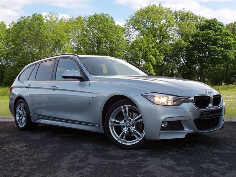 BMW 3 SERIES 2.0 320d M Sport Touring xDrive 5dr (start/stop) (silver) 2014