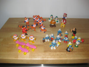 Figurines - StarWars, TMNT, GIJoe, etc - 87 figurines