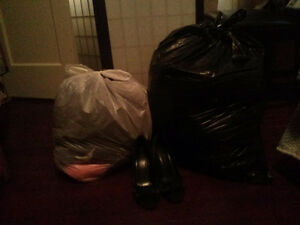 2 Bags of gently used clothes from closet cleanout