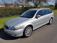 JAGUAR X-TYPE 2.0D SPORT - ESTATE - 5 DOOR - 2005 - SILVER