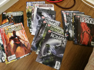 Annihilation comic book complete series