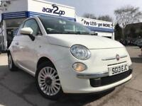 2013 Fiat 500 LOUNGE Manual Hatchback