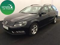£200.89 PER MONTH VOLKSWAGEN PASSAT 1.6 TDI BMT S ESTATE DIESEL MANUAL