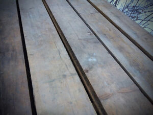 Barn Boards / Tongue and groove / Planches de grange _ Madrier