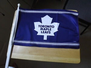 FS: Toronto Maple Leafs Car Window Flag