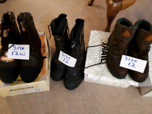 Men  boots never worn