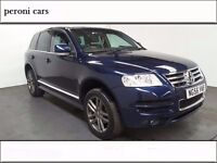 Volkswagen Touareg 2.5 TDI Altitude 5dr, 6 MONTHS FREE WARRANTY , Full dealership history ,New tyres