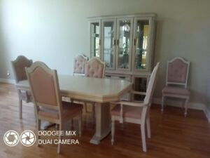 Formal Dining Room Suite with Matching Hutch