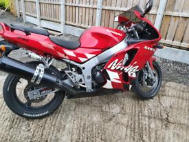 Kawasaki 600 zx6r 1997💥LOW MILES💥