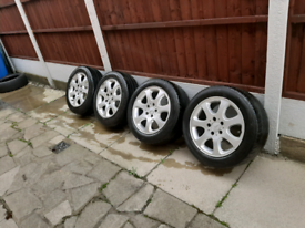 """Mercedes 16"""" alloy set of 4"""
